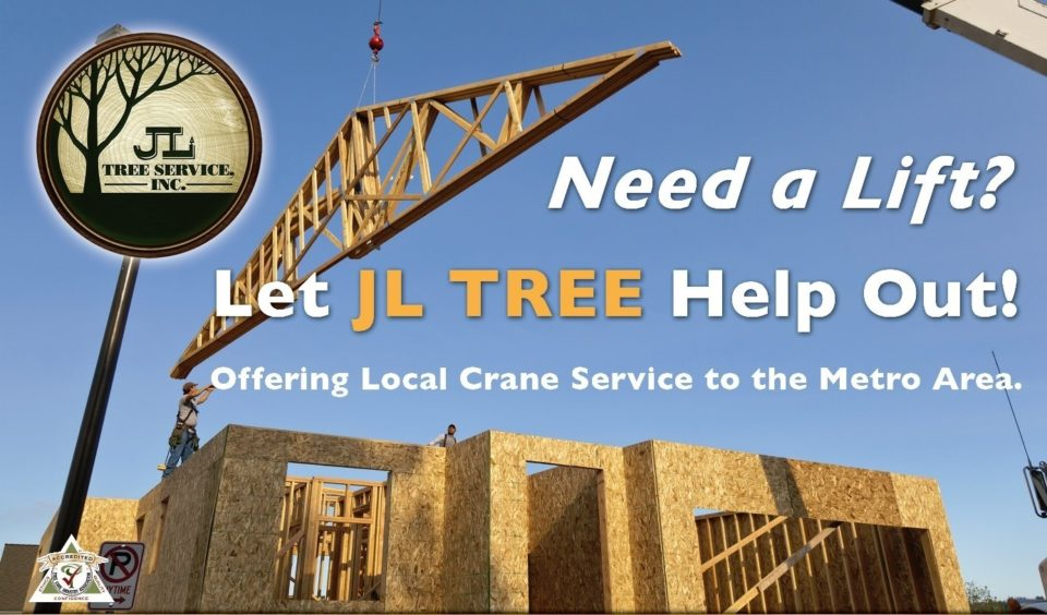 We Do Not Offer Crane Al Service For Other Tree Companies Anymore
