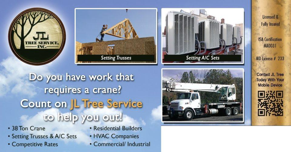 Crane Rental - JL Tree Service