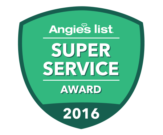 Angie's List 2016 Award Winner