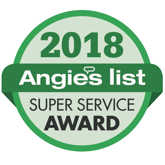 Angie's List 2018 Award Winner